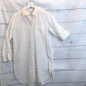 White light weight cotton tunic